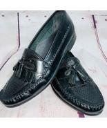 Hush Puppies Men's Black Tassel Loafers 10M - $35.00