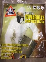 Keepsafe Type 5 & 6 Coveralls Size XL Cat 3 BNIB Free UK Postage (BB3) - $8.81