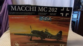 1/48 Scale Tauro Models German Macchi MC 202 Fighter Airplane Kit BNOS #307 - $44.55