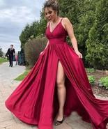 Plus Size Spaghetti Straps Long Prom Dresses for Women - £71.78 GBP+