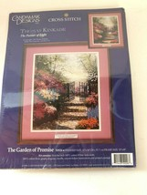 Thomas Kinkade 50926 Needlepoint Kit Garden of Promise 11 x 14 New/Seale... - $39.59