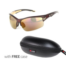 Large Sport Cycling Biking Golfing Wrap Around Sunglasses Men Running - $7.99