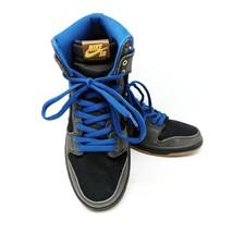 NIKE Men's SB Dunk High Premium STARS Black Dark Royal Blue 313171-022 S... - £55.26 GBP