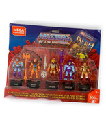 Mega Construx  Masters of The Universe Battle For Eternia Set with Stand... - $24.95
