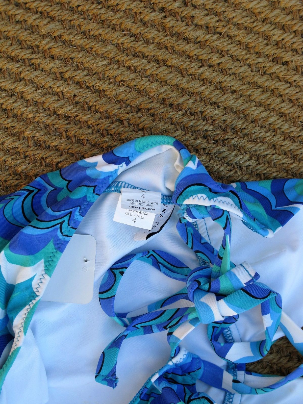 One-Piece Swimsuit Bathing Suit Trina Turk Swim Suit 4 $140 MSRP