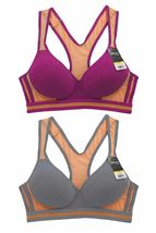 Women's Pack of 6 Supportive Molded Cup Cotton Sports Bra image 3