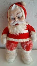"Vtg RUSHTON 18"" Plush Stuffed CHRISTMAS SANTA CLAUS Atlanta GA  - $149.00"