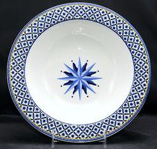 Victoria & Beale Williamsburg * SERVING / VEGETABLE BOWL * Blue, White, VGC - $33.65