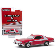 1976 Ford Gran Torino Red with White Stripe (Dirty Version) Starsky and ... - $14.01
