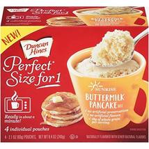 Duncan Hines Perfect Size for 1 Sunrise, Buttermilk Pancake, 8.4 Ounce - $10.29