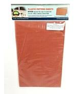 "JTT Scenery 97435 Spanish Tile Sheets 2 Pk 1:48 O Scale 7.5""x12"" Model Supply - $7.83"