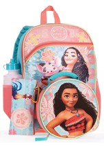 Moana 5-Piece Backpack Set With Lunch Bag  Free Shipping - $23.70