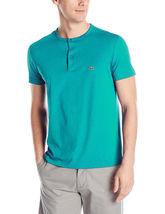 New Lacoste Men's Short Sleeve Henley Jersey Pima Cotton Regular Fit T-Shirt image 10