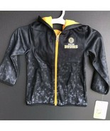 Boston Bruins Full Zip Hoddie Jacket Kids Size 4T Brand NEW With Tags -a - $24.99