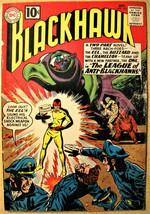 BLACKHAWK# 165 Oct 1961 1st League of Anti-Blackhawks Dillon Art KEY: 5.... - $20.00