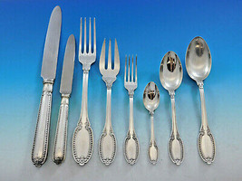 Empire by Buccellati Italy Sterling Silver Flatware Set Service 79 pcs D... - $16,500.00