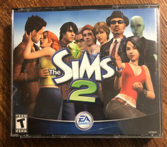 The Sims 2 (2004, EA Games) PC-CD ROM 4-Disc Set w/ Code - $13.85
