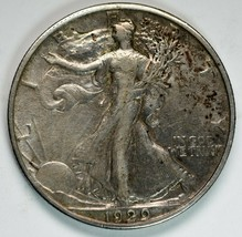 1929S Walking Liberty Half Dollar 90% Silver Coin Lot# A 226