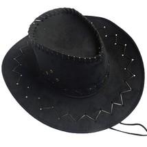 Men Women Hats Wild West Fancy Cowgirl Cowboy Western Headwear Cap Class... - $9.59