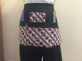 6 Pocket Waist Apron / Stripes - $19.95