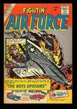FIGHTIN' AIR FORCE #23 1960-CHARLTON WAR COMIC-GLANZMAN FN- - $44.14