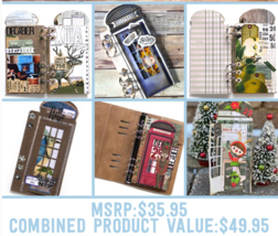Phone Booth Special Kit.  Elizabeth Craft Designs . NEW! image 3