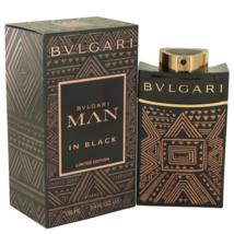 Bvlgari Man In Black Essence 3.4 Oz Eau De Parfum Cologne Spray image 1