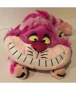 "Disney Store Cheshire Cat Alice in Wonderland Exclusive 15"" Plush Pink T... - $14.99"