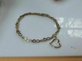 """Vintage AVON Snowflake Charm Bracelet 9"""" - Adjustable - $13.99"""