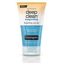Neutrogena Deep Clean Invigorating Foaming Face Scrub with Glycerin, Coo... - $7.69