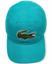 Lacoste Men's Classic Gabardine Premium Cotton Big Croc Logo Adjustable Hat Cap image 15