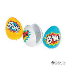 Superhero Plastic Easter Eggs - 12 ct  - $12.49