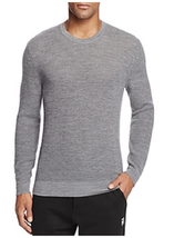 The Men's Store at Bloomingdale's Thermal Stitch Merino Wool Crewneck Sw... - $44.54