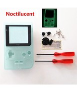 GBP Nintendo Game Boy Pocket Housing Shell GLASS Screen Lens Glow in the... - $17.81