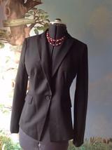 Ann Taylor Petites Long Sleeve Black Suit Jacket Blazer 8 - $21.77
