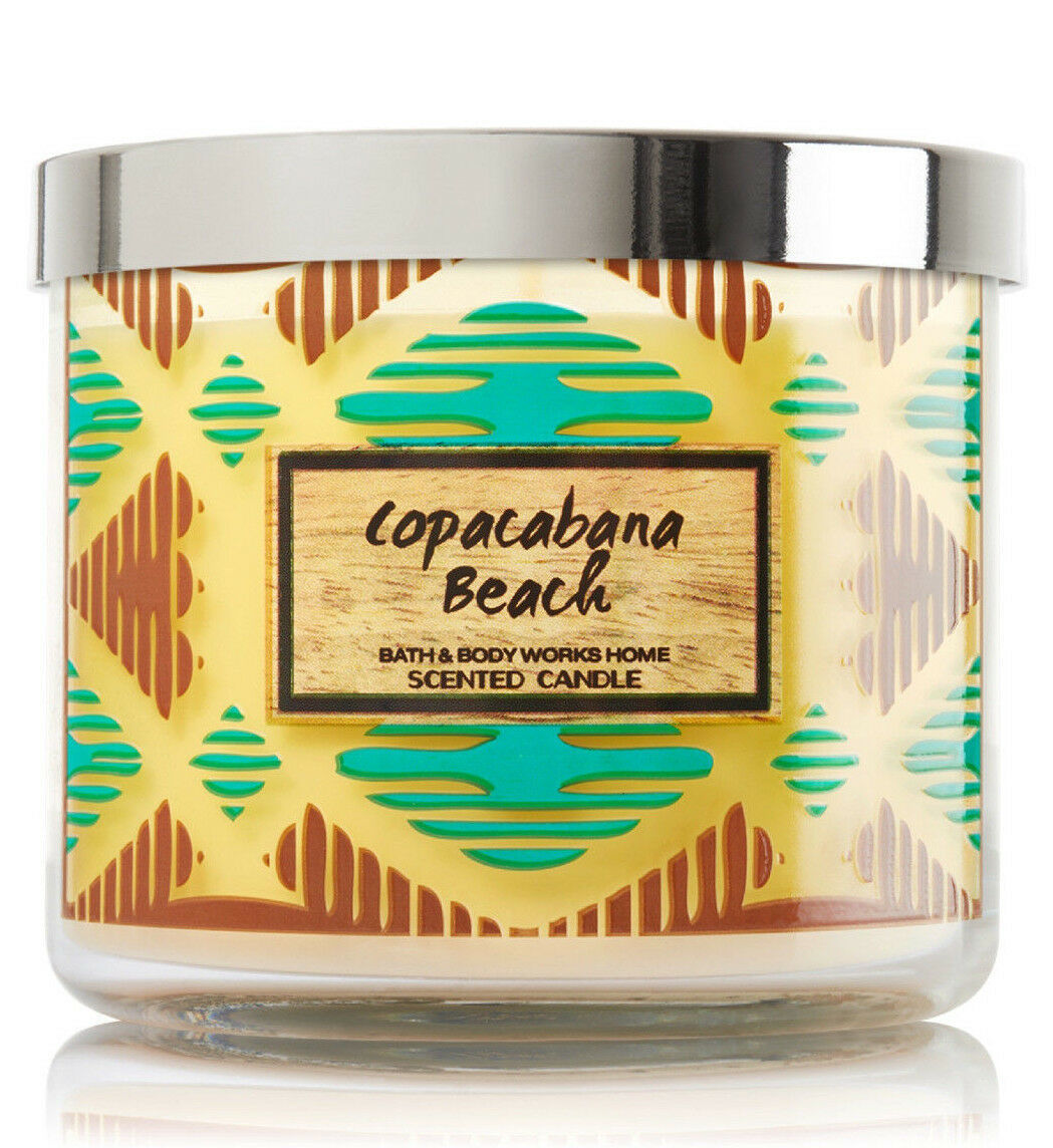 Bath & Body Works Copacabana Beach Three Wick 14.5 Ounces Scented Candle image 4
