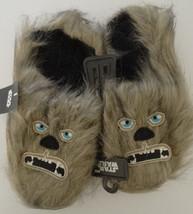 Star Wars Chewbacca Chewy Fuzzy Scuff Adult Slippers - $19.99