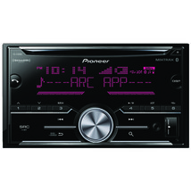 Pioneer FH-S700BS Double-DIN In-Dash CD Receiver with Bluetooth & SiriusXM Ready - $146.90