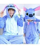NEW Adult/Animal/Kigurumi Pajamas Costume Cosplay Pyjamas Blue Stitch An... - £11.29 GBP