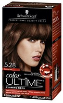 Schwarzkopf Color Ultime Hair Color Cream, 5.28 Cocoa Red Packaging May Vary - $9.84