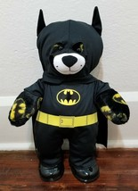Build A Bear Batman Plush DC Comics Black & Yellow Signal and Complete O... - $18.96