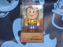 Woody Disney Pixar Toy Story Tin Wind Up. Brand New. 4 inches tall. - $14.84