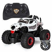 Monster Jam Mutt Dalmatian RC Truck Remote Control 1:24Scale Kid Gift To... - $13.43