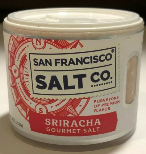 Primary image for San Francisco Salt Co Spiracha 4 Oz New