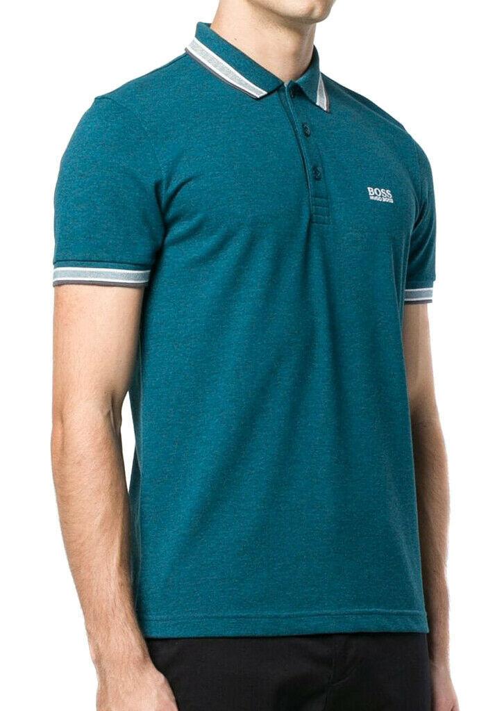 Hugo Boss Men's Premium Cotton Green Tag Sport Polo Shirt T-Shirt Paddy image 6