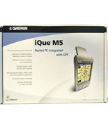 Garmin iQue M5 Pocket PC Integrated With GPS New Old Stock - $249.99