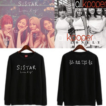 Kpop Sistar Sweatershirt Album Lonely Long Sleeve Kim Hyo Jung SoYou Pul... - $12.08