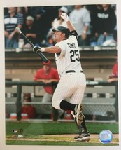 Jim Thome 500th Home Run Glossy Photo 8 X 10 Chicago White Sox DM1 - $5.99