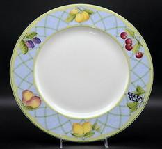 "Mikasa Fruit Rapture CHOP PLATE / ROUND PLATTER Fruit Design, 12 1/4"", G... - $7.91"