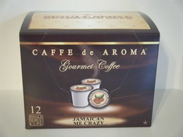 Caffe de Aroma Jamaican Me Crazy flavored 12 Single Serve K-Cups OK for 2.0 - $10.45